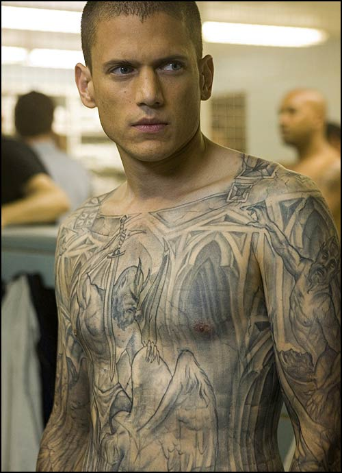 Prison Break Submissive Devil Tattoo Prison Break ??!